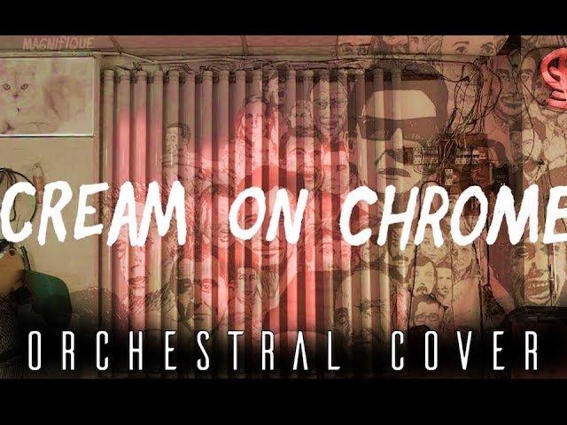 RATATAT CREAM ON CHROME Hybrid Orchestral Cover