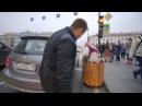 ПРАНК Бабка на гироступе-3! ДТП в Питере.
