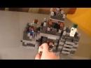 Лего Набор Крепость Майнкрафт Minecraft Обзор
