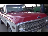 1969 Chevy C10 396 Big Block Classic Texas 69 Chevrolet C-10 Truck Rumblin'