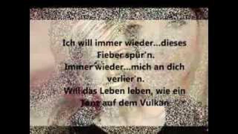 Helene Fischer Ich will immer wieder dieses Fieber spür' n lyrics