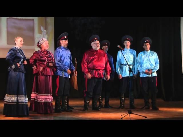 Станичники Тоболово Сибирский казак на слова П П Ершова