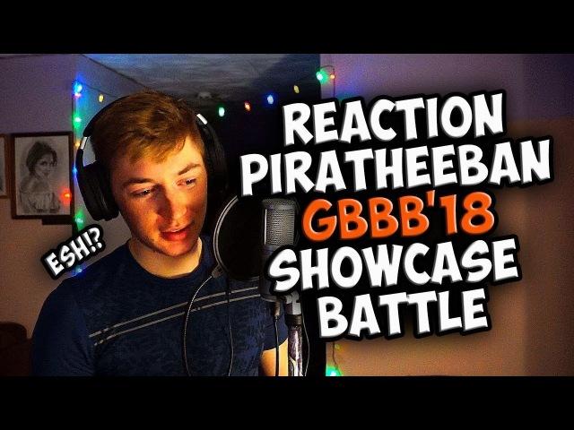 PIRATHEEBAN | Grand Beatbox SHOWCASE Battle 2018 | REACTION (ENG SUB)