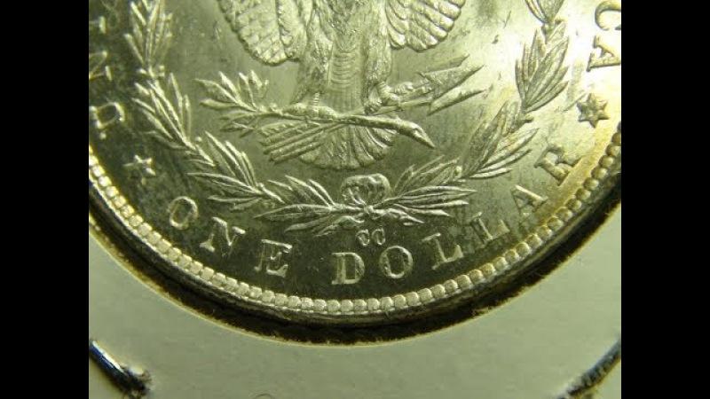 Loss CC Mint and S Mint Morgan Silver Dollors