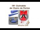 DIY- Reciclando: Guirnalda inspirada en las Gorjuss de churro de piscina