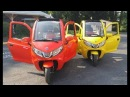 ZEV ELECTRIC T3-1 DEMO DRIVE - rough roads demo