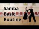 Samba Basic Routine Membership Figures Marts Smolko Tina Bazykina