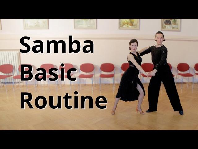Samba Basic Routine Membership Figures | Marts Smolko - Tina Bazykina