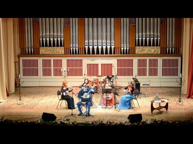 S.L. Weiss. Chaconne / Diva-Quartet, Eugene Sapsalyov (guitar)