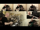 DragonForce - Through the Fire and Flames Cover (All Instruments)