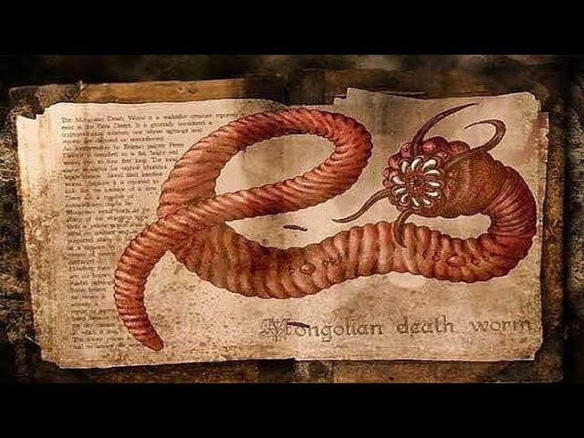 Отрок Вячеслав об огромных червях змеях