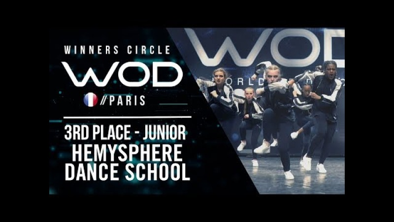 Hemysphere Dance School | 3rd Place Junior | World of Dance Paris Qualifier 2018 | Winners Circle