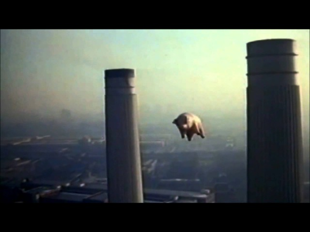 Pink Floyd - Pigs on the wing, parts 1 2 (8-track version) HD.