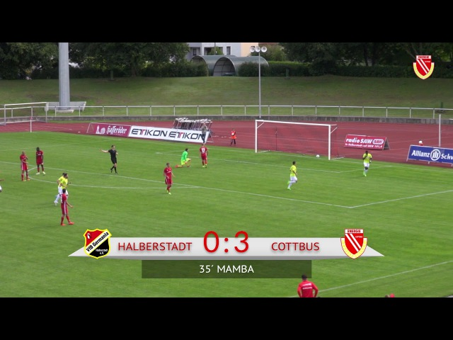 6 Spieltag VfB Germania Halberstadt FC Energie Cottbus Die Highlights