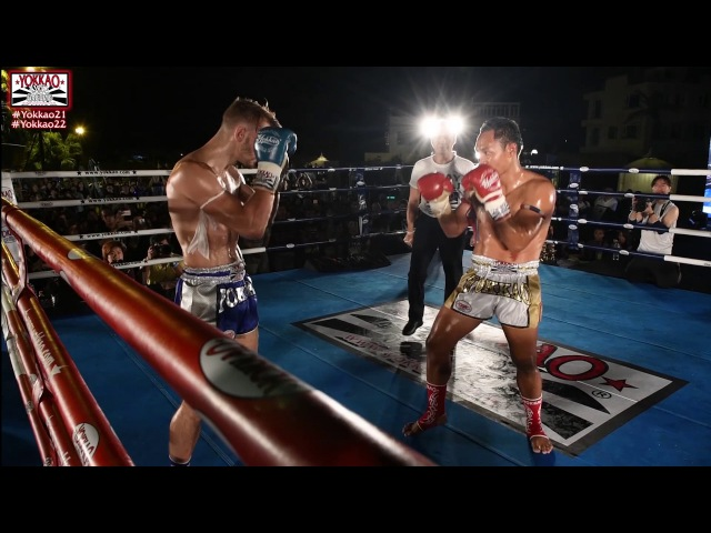 YOKKAO 22 Hong Kong Saenchai vs Ognjen Topic - Muay Thai Full Rules -65kg