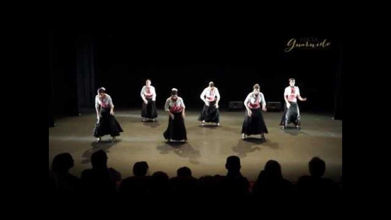Flamenco intermedio Alegrías. Fin de Curso 2016. Escuela Flamenco y Danza Lucía Guarnido