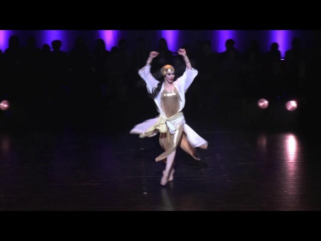 Esmeralda Colabone Baladi BellyDance Festival Competition TheONE 2017