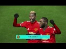 PES 2018 / Manchester United vs Brighton Albion / Full Match 2018 / Gameplay HD
