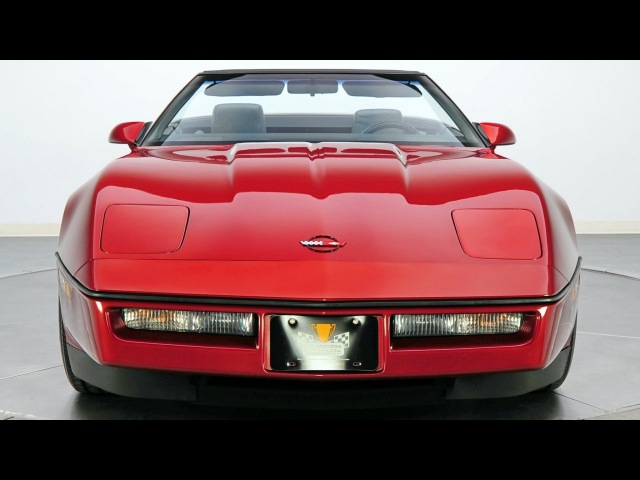 Chevrolet Corvette Convertible 1YY67 1986