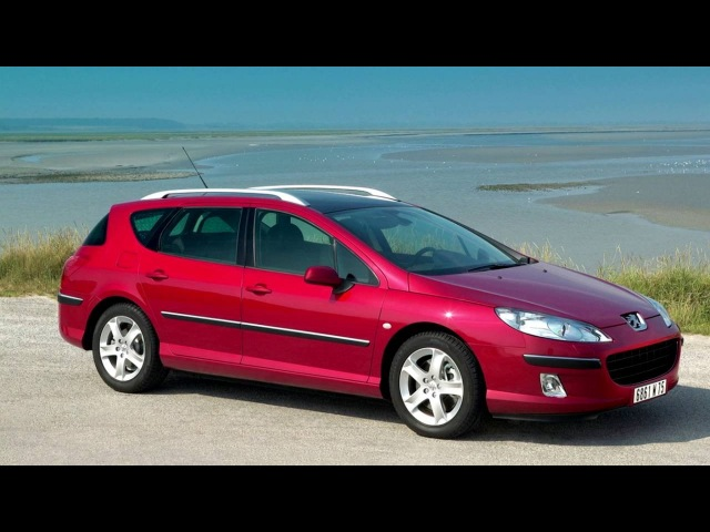 Peugeot 407 SW EU spec '04 2004–08 2008