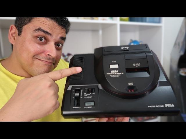 Jogar Master System no Mega Drive Conheça o Power Base!