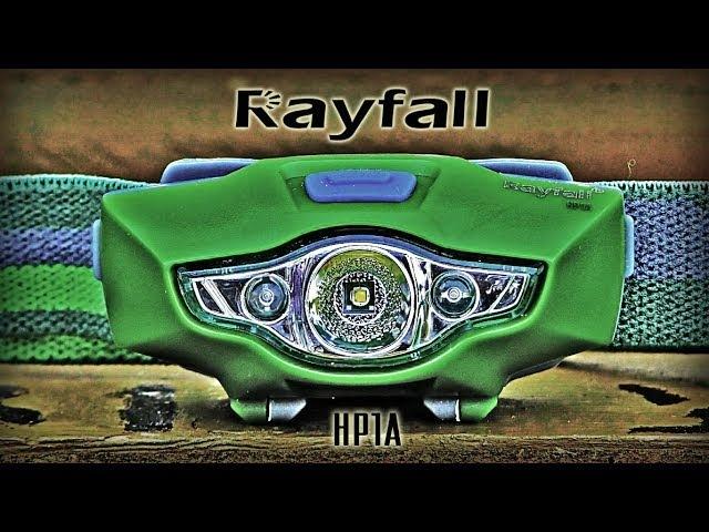Аварийный Налобный фонарь Rayfall HP1A-Duracell