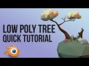 Low poly tree Blender quick