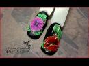 Лепка 3д гелем. Цветы. Объемный дизайн ногтей