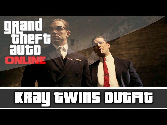 GTA 5 Online Ronnie and Reggie Kray Twins Outfit and Customization