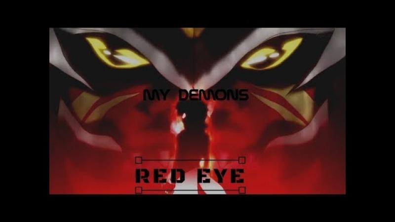 Бейблейд Взрыв Красный Глаз Мои демоны Русский