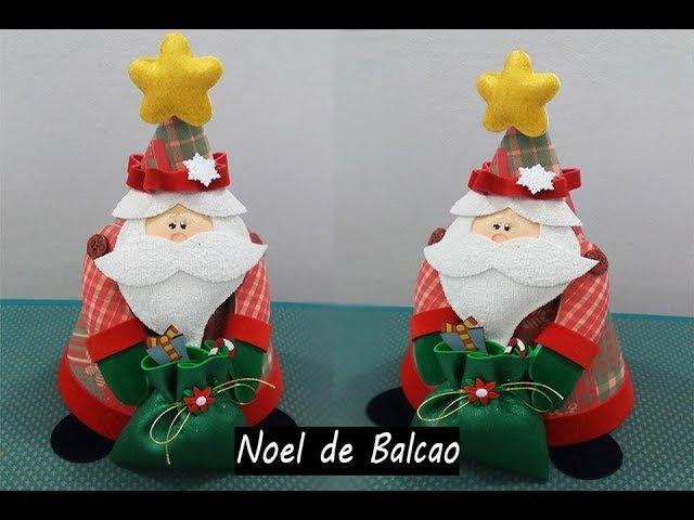 Enfeite Papai Noel para balcão