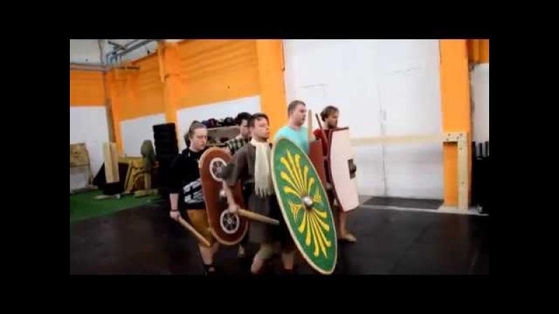 Legio IX Hispana. Римские легионеры сегодня. Тренировки.