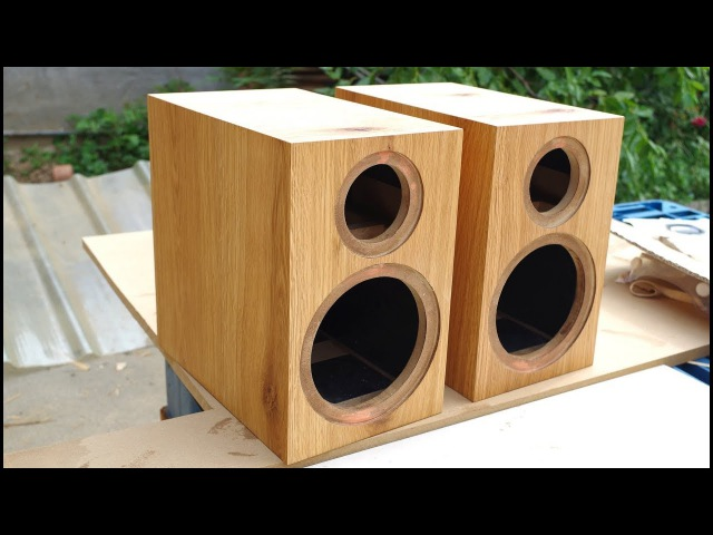 Build a Loudspeaker Box with a Router