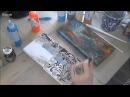 Акриловые краски и эффект ржавчины в микс медиа декоре видео мастер-класс Натал ...
