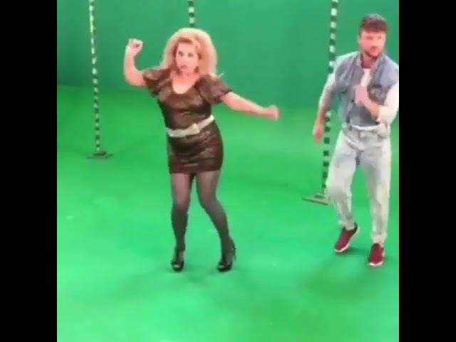 Цвет настроения синий. Марина Федункив и Сергей Лазарев отжигают!