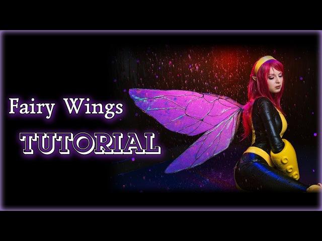 DIY X MEN Pixie Fairy Wings TUTORIAL Eng sub