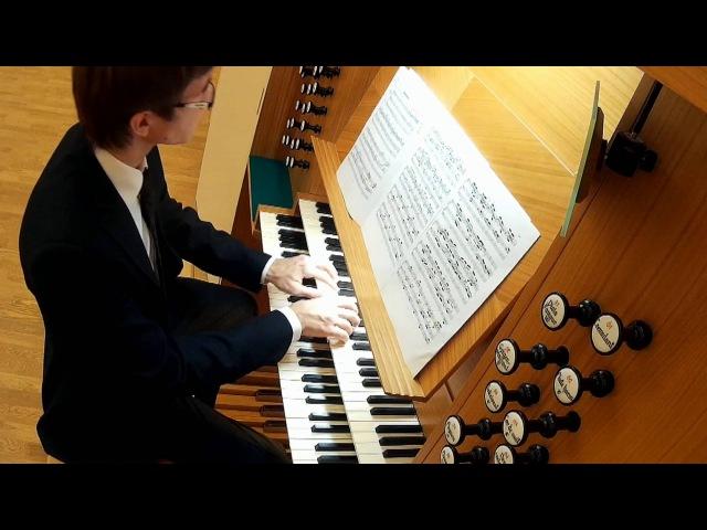 J. S. Bach Passacaglia c-moll BWV 582 / И.С.Бах Пассакалия до минор