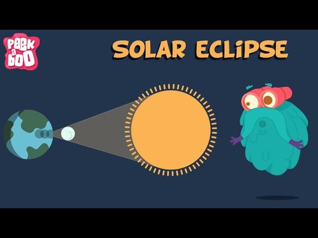 Solar Eclipse The Dr Binocs Show Educational Videos For Kids
