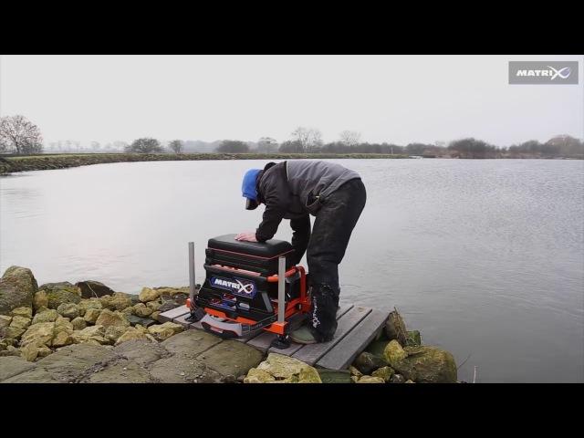 MATRIX S36 SUPERBOX ORANGE LIMITED EDITION SEAT BOX (PRE-ORDER)   Fishing Republic