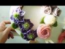(힐링 healing)앙금플라워 클레마티스,장미,퐁퐁국화 /Clematis,Rose,pompon/ beanpaste flower piping