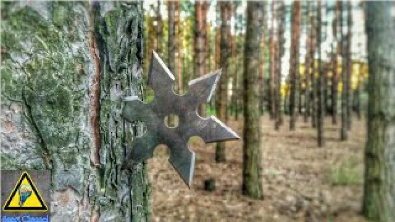Как сделать Сюрикен (метательная звезда) / How To Make a Ninja Throwing Star (Shuriken)