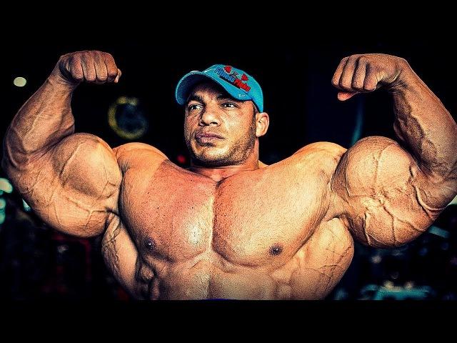 РУКИ БАЗУКИ и самая БОЛЬШАЯ ГРУДЬ - BIG RAMY - Bodybuilding Motivation