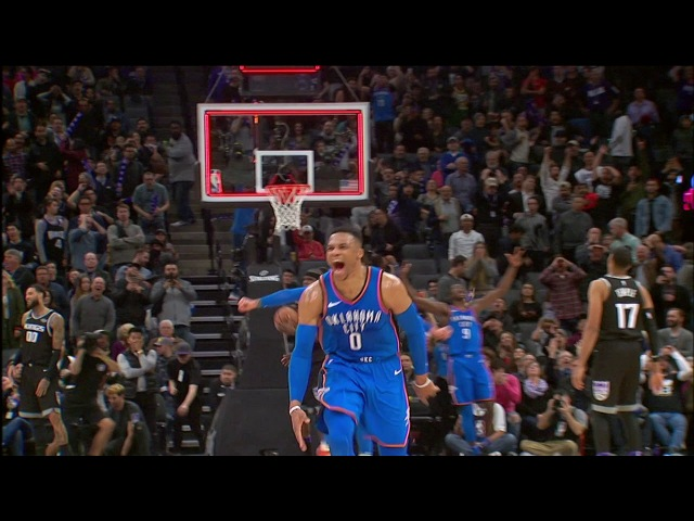 Tissot Buzzer Beater: Russell Westbrook Wins It For The Thunder At The Buzzer | February 22, 2018