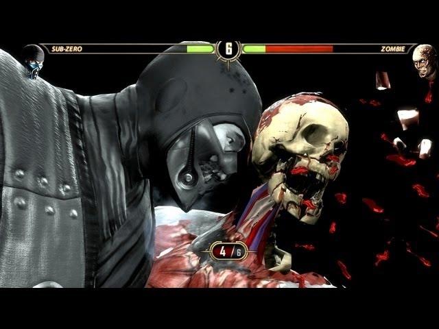 Mortal Kombat Komplete Zombies! PC Gameplay Ultra High Brains D