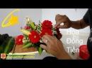 Cắm hoa bàn thờ tập 72 | Cách Cắm HOA ĐỒNG TIỀN ĐỎ Đẹp| Gerbara