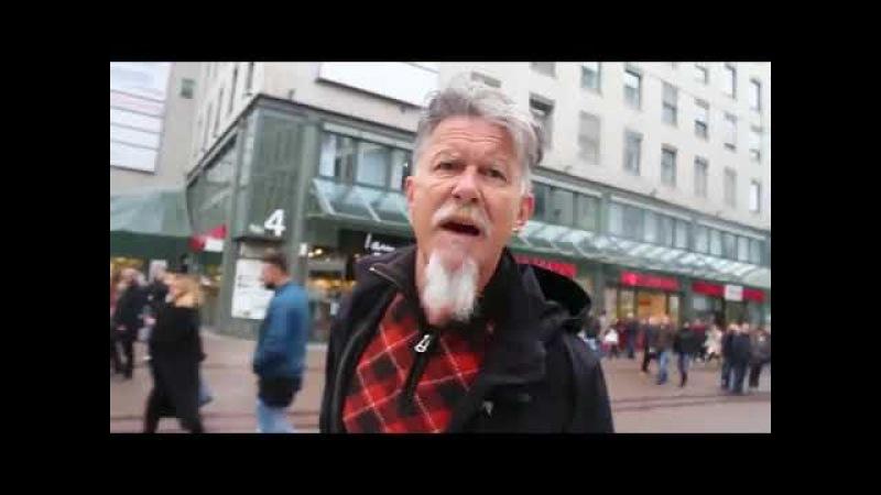 Koran wird verteilt Mann platzt der Kragen und sagt seine Meinung