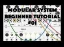 Modular System Beginner Tutorial 01: Let's make music with VCV Rack!