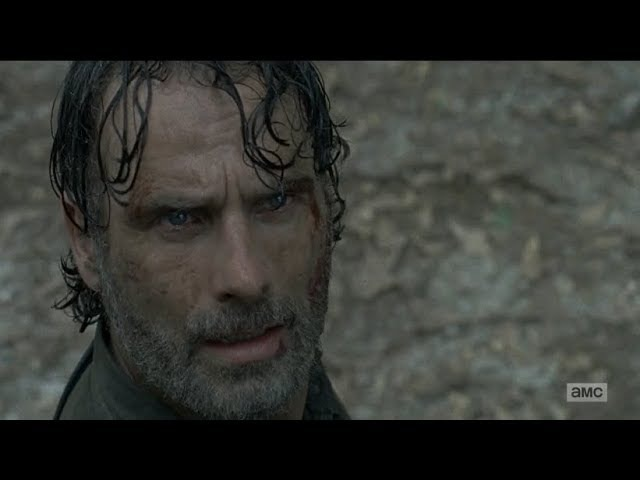 The Walking Dead 8x05: Rick Sees A Helicopter / Negan Confronts Eugene [HD]