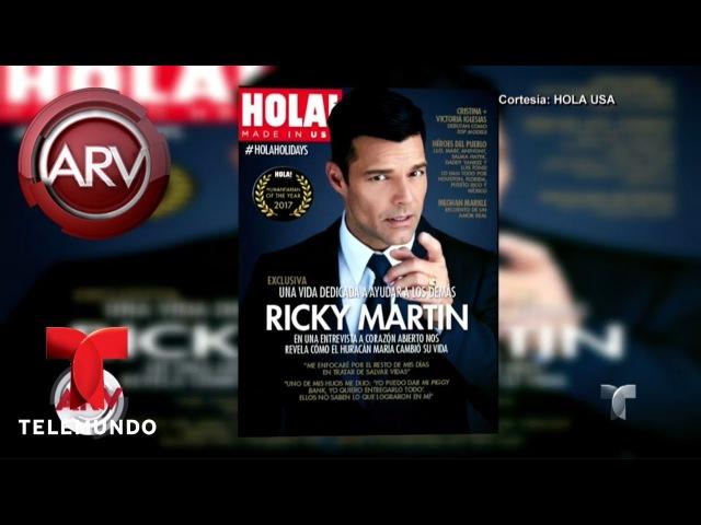Ricky Martin reveló detalles exclusivos de su boda Al Rojo Vivo Telemundo