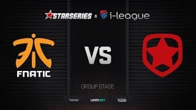 Fnatic vs Gambit, map 2 overpass, StarSeries i-League Season 4 Finals